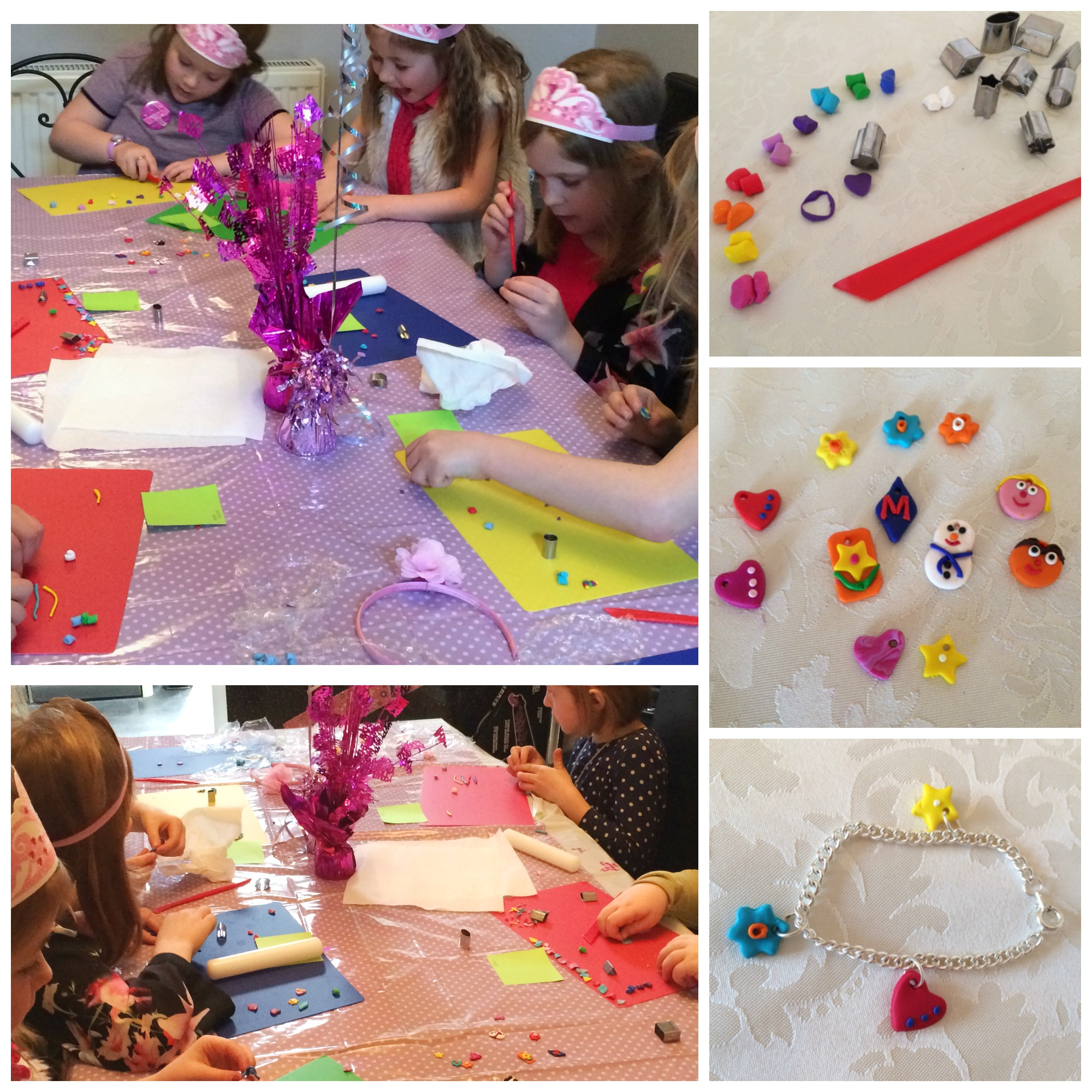 Childrens Jewellery Making Party